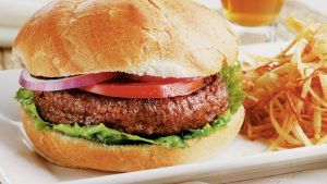 srfbeef burger plated 2